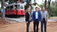 Nostalji tramvayı Dokuma'da