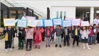 Öğrenciler, Çocuk haklarına farkındalık için yürüdü
