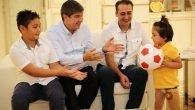 Özge'den Başkan Türel'e teşekkür ziyareti