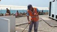 Plajlarda temizlik seferberliği