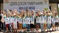 Tarımda lider çocuklar Zeytinpark'ta
