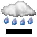 Sağanak Yağışlı