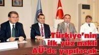 Türkiye'nin ilk yüz nakli AÜ'de yapılacak