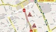 Hüsnü Karakaş Caddesi trafiğe kapatılıyor