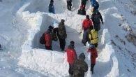 TODOSK'lu dağcılar eğitimde