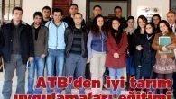 ATB'den iyi tarım uygulamaları eğitimi
