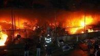 Hurdacılar Sitesinde yangın