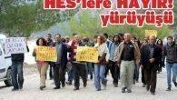 HES'lere hayır protestosu