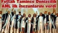 Fettah Tamince Denizcilik AML ilk mezunlarını verdi