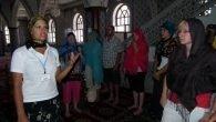 Camiye turist akını