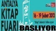 Kitapseverlerin Kalbi Antalya'da AtacakAntalya