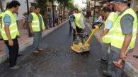 Muratpaşa'dan sokaklara baskılı asfalt