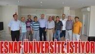 Esnaf Doğu Garajı'na Üniversite İstiyor