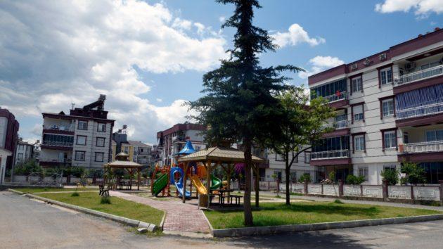 Şehirleşen mahalleye 35 bin m2 yeşil alan