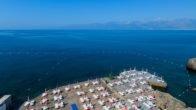 Falez plajları açıldı