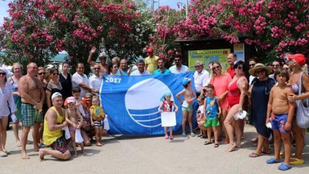 Asku'da Mavi Bayrak töreni