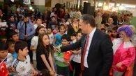 Başkan Uysal çocukların coşkusuna ortak oldu