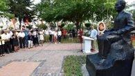 Cahit Sıtkı Tarancı anıt heykeli açıldı