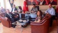 CHP Muratpaşa, MHP İlçe Örgütünü ziyaret etti