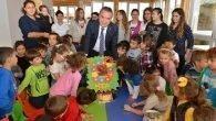 "Çocuk Kreşi'nde ""Cumhuriyet"" coşkusu"