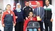 Halterden Antalya'ya Gelen ilk Büyük Başarı