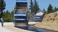 Manavgat yolları asfaltlanıyor