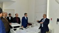 Vali Karaloğlu hastaneleri inceledi